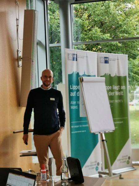 Kai Hohmeier beim Workshop Kundenbedürfnisse ident