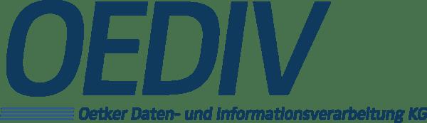 OEDIV Logo CMYK Blau
