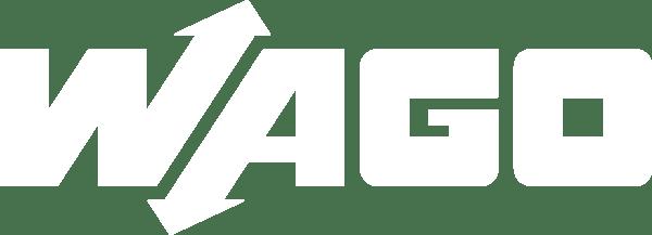 Wago Logo weiß invertiert