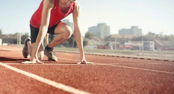 Innovations Sprint - Sprinter auf Startposition